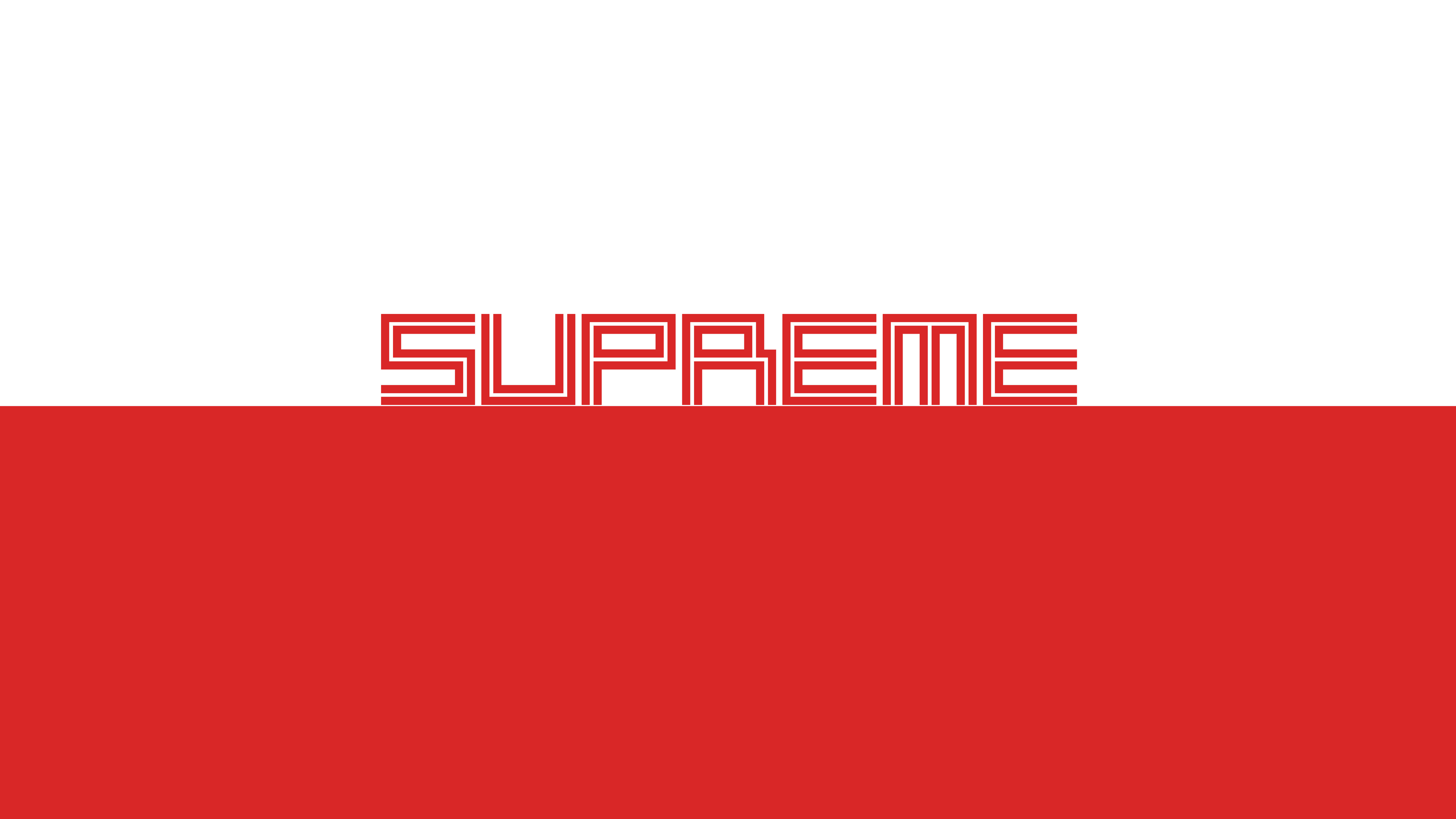 8K Supreme Simple Wallpaper