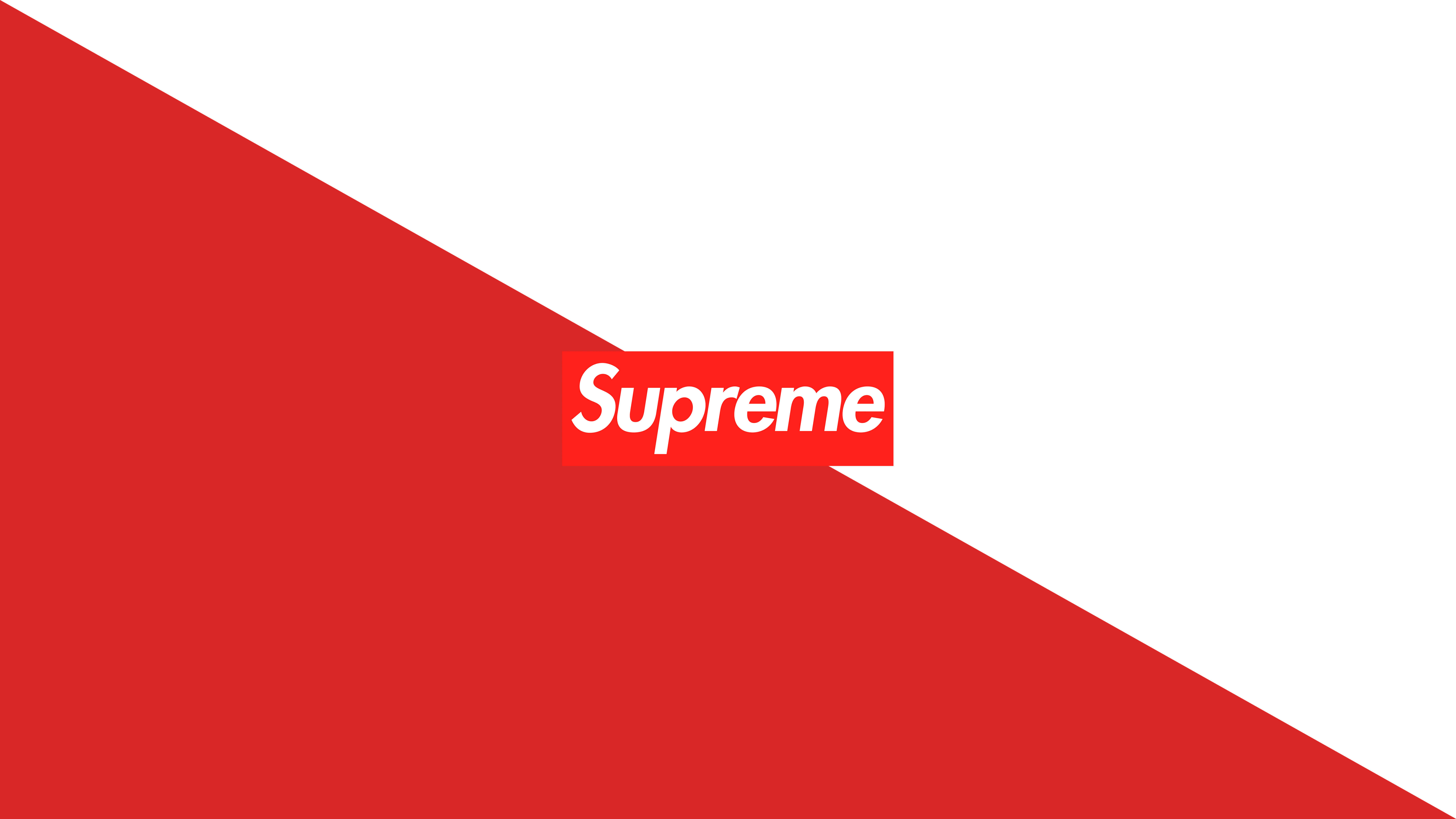 Simple Supreme 8K Wallpaper