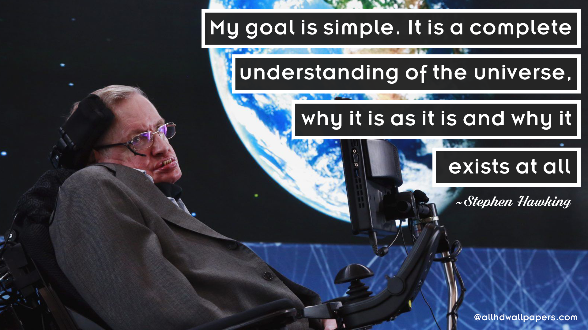Stephen Hawking Quote Wallpaper10