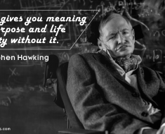 Stephen Hawking Quote Wallpaper3