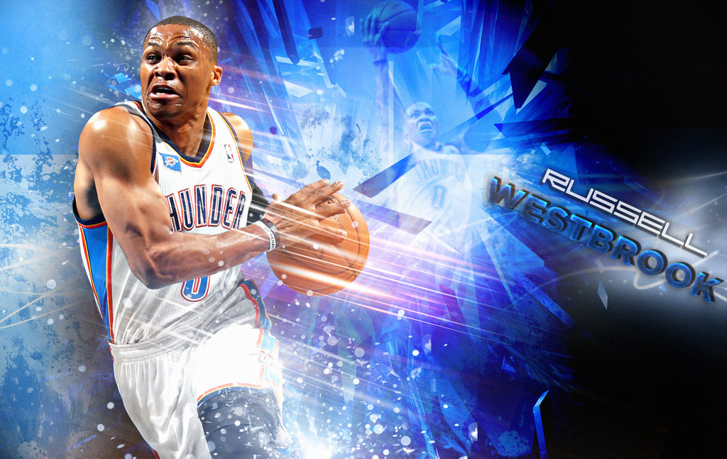 Crazy Russell Westbrook Hd wallpaper