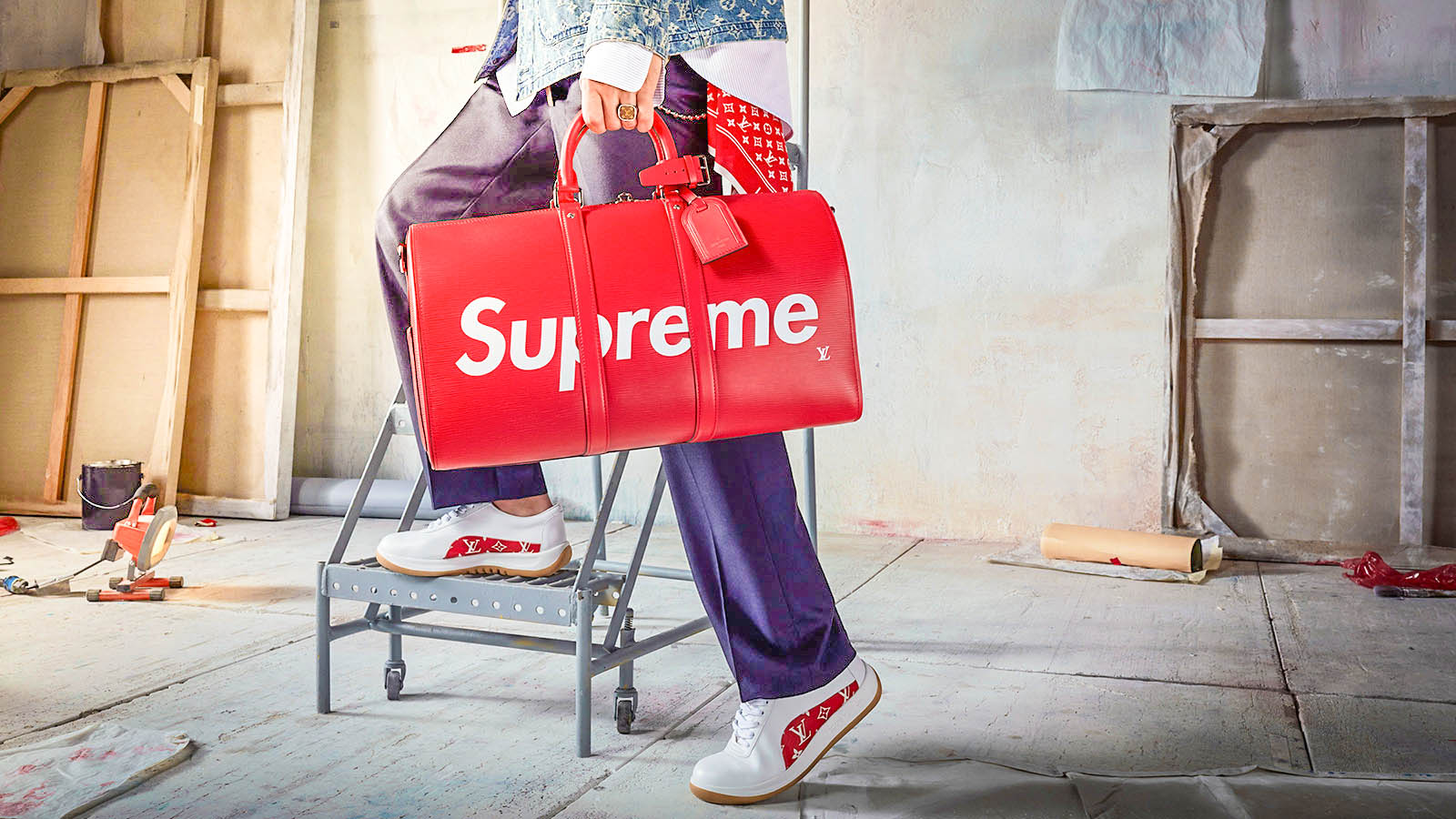 Supreme Bag Collection Wallpaper Original