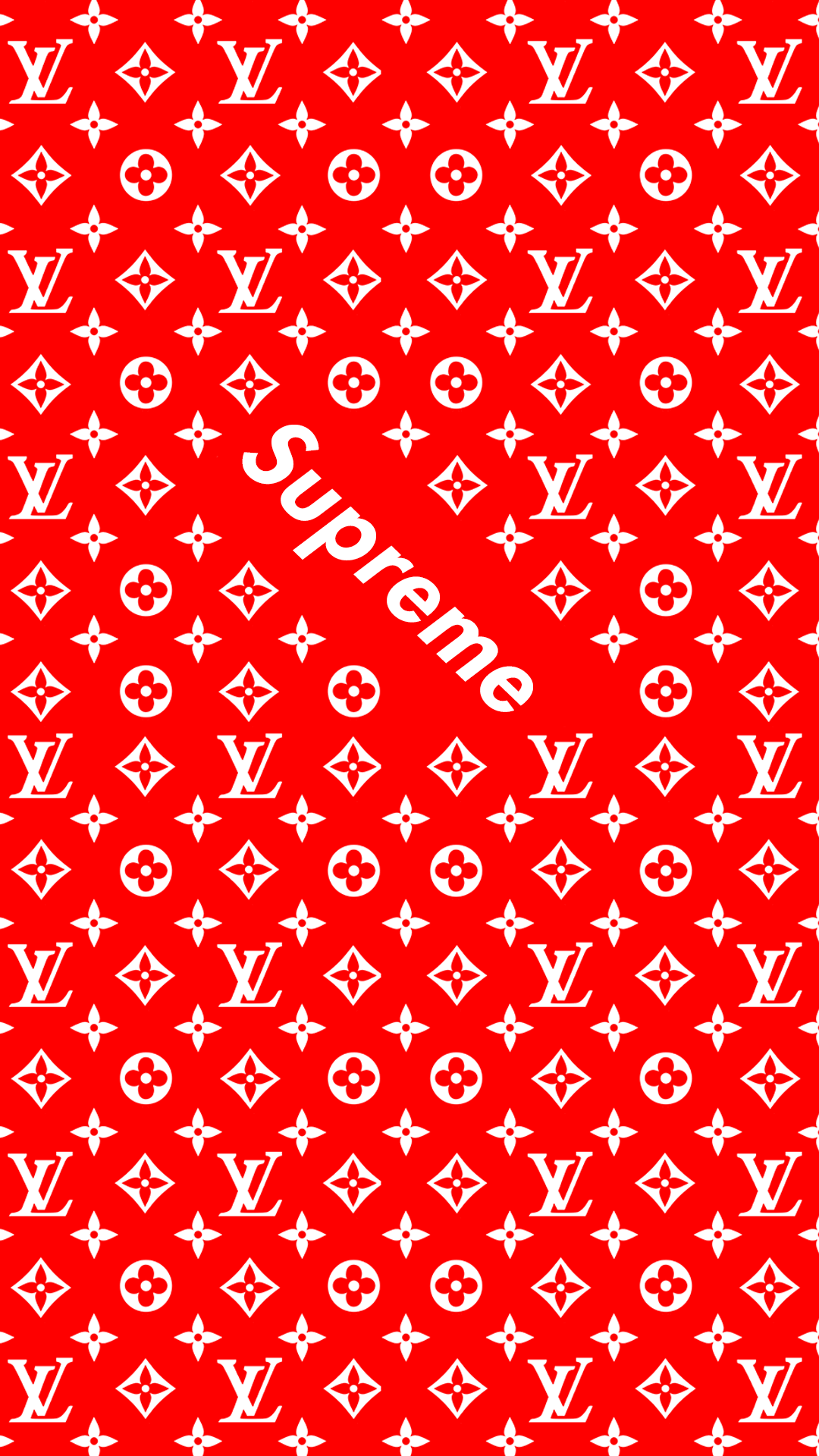 Supreme Lock screen mobile wallpaper