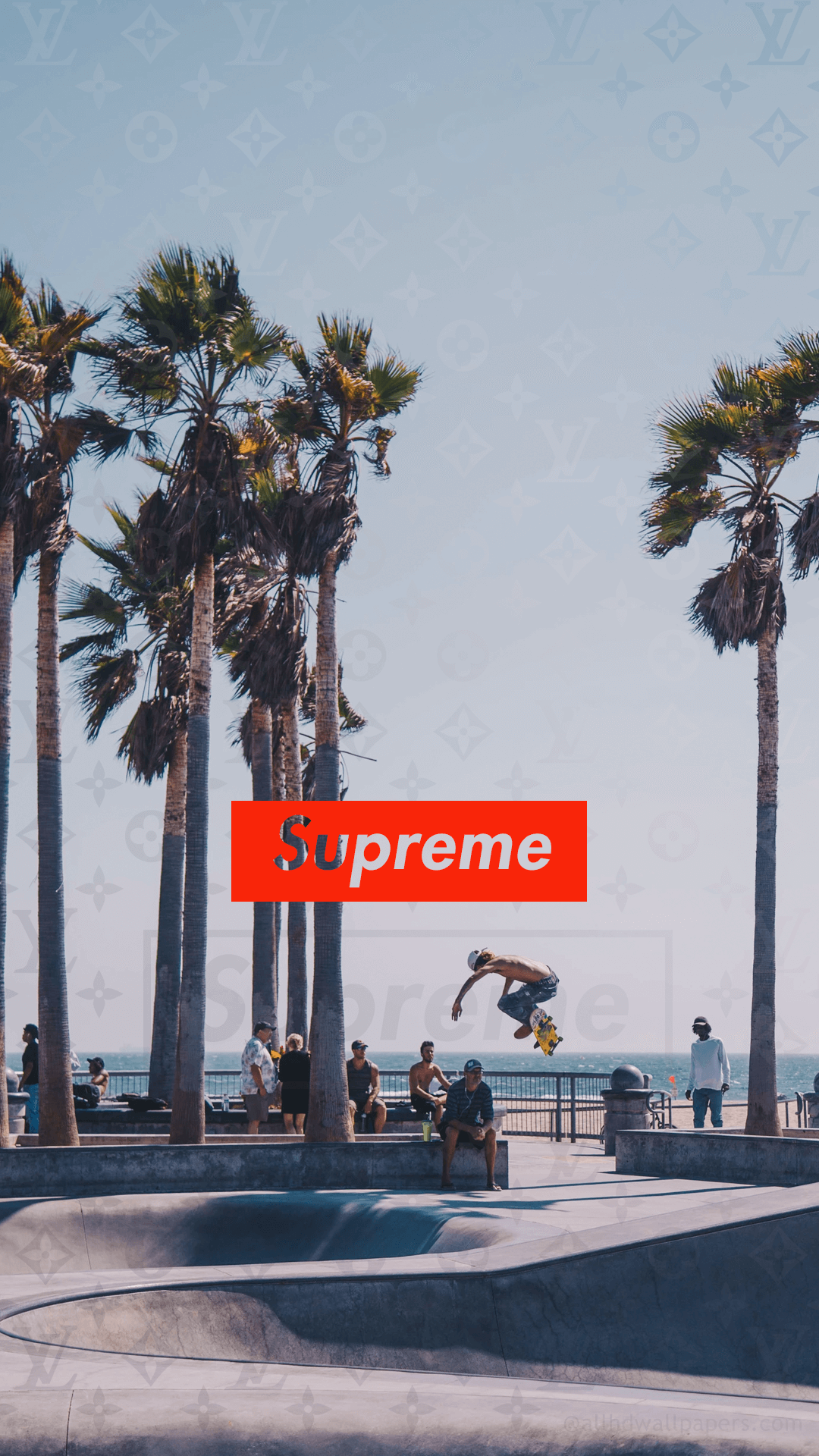 Skateboard supreme wallpaper