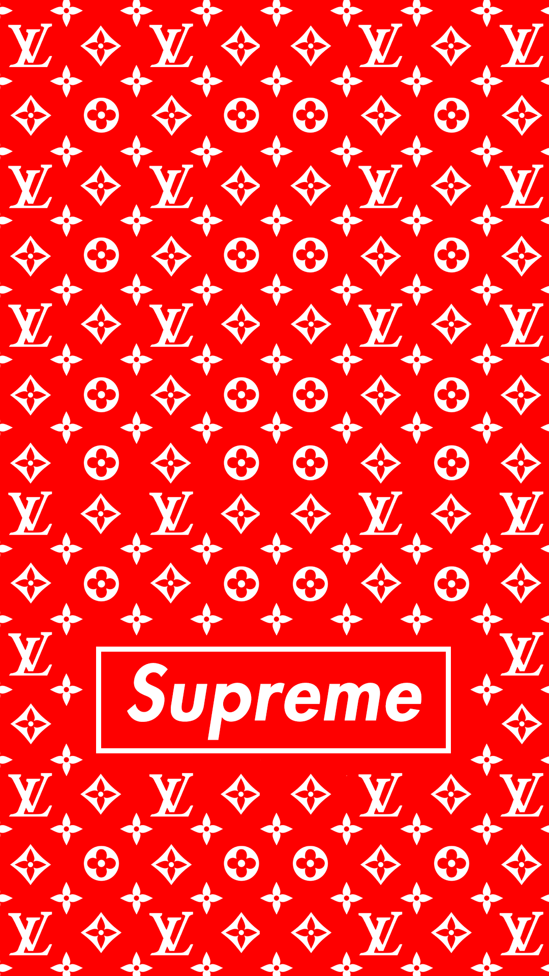 Supreme Louis Vuitton hd wallpaper