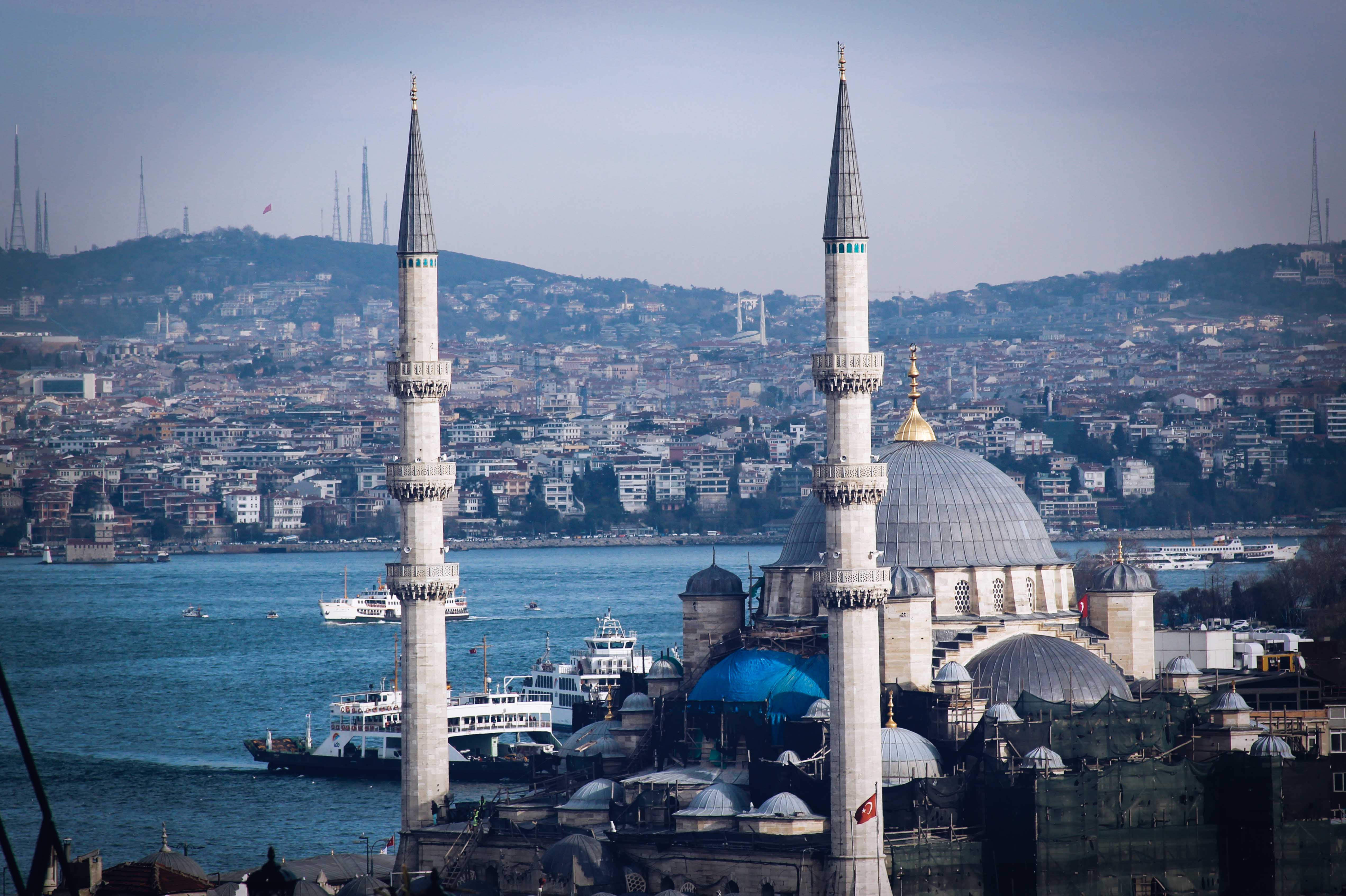Blue Mosque 4K Wallpapers9