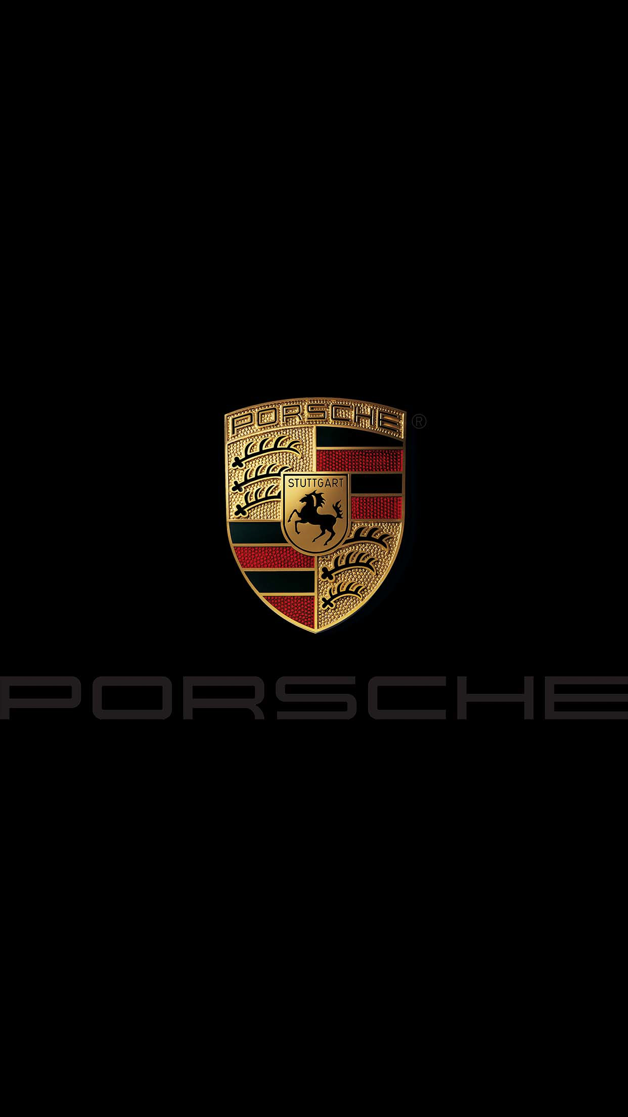 Porsche Black Wallpaper