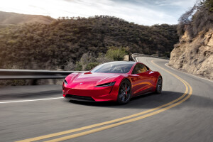 Tesla Roadster 2020 4K Wallpapers