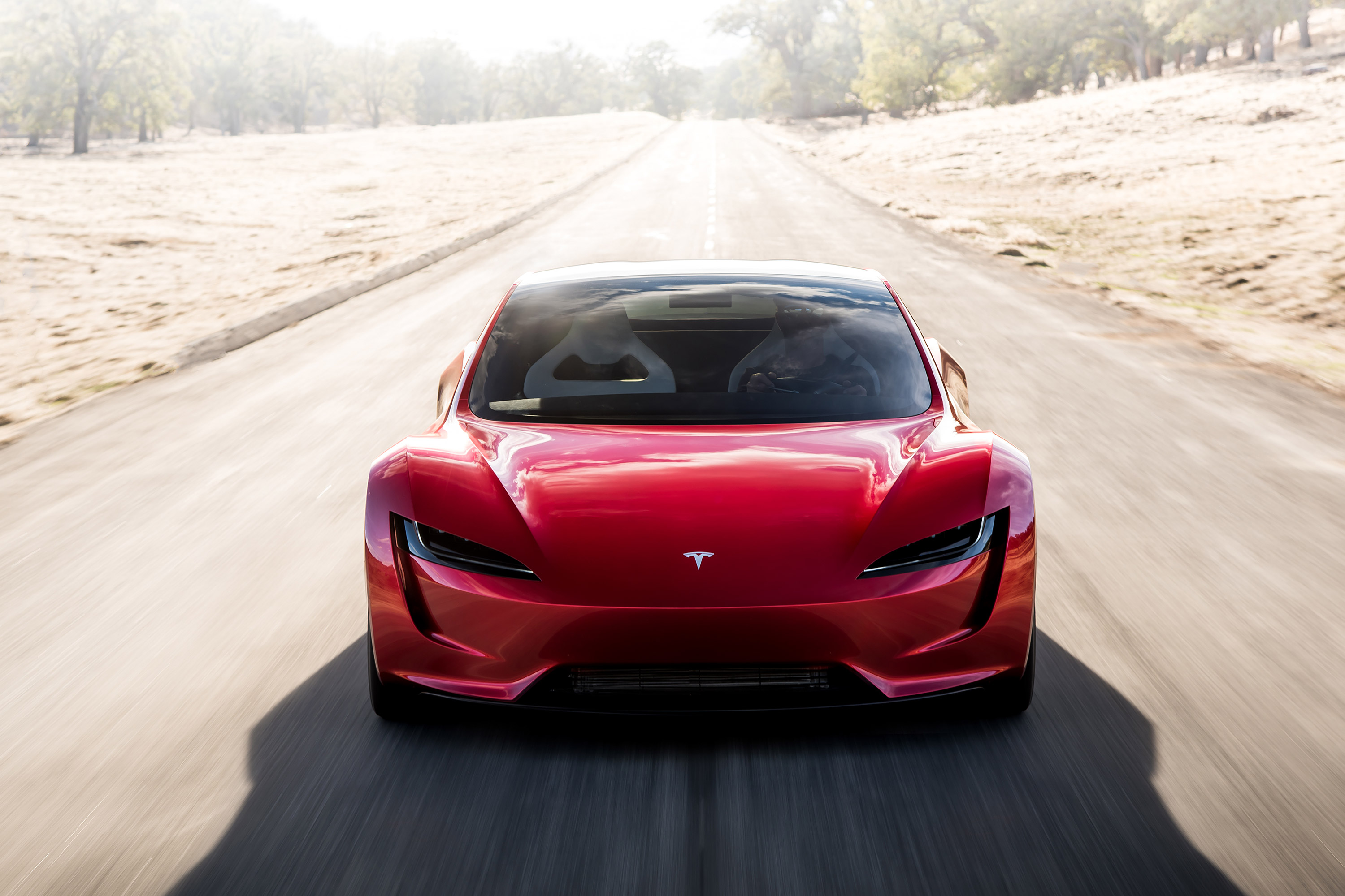 2020-Tesla-Roadster-V2-front wallpaper